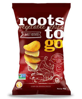 Chip Batata Doce Roots To Go - 45gr