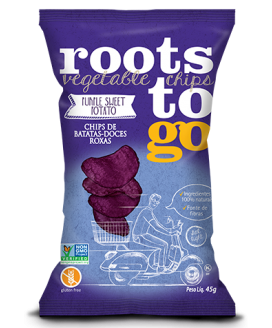 Chip Batata Doce Roxa Roots To Go - 45gr