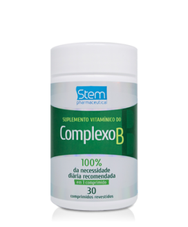 Complexo B Stem Pharmaceutical - 30cp