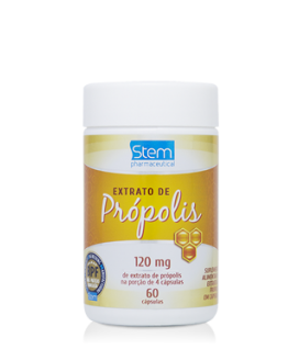 Extrato de Própolis Stem Pharmaceutical 120mg - 60cp