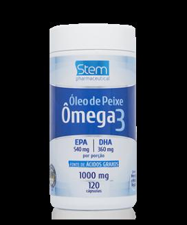 Óleo de Peixe Omega 3 1000mg Stem Pharmaceutical - 120cp