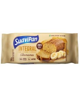 Bolo Integral Zero Açúcar Banana Suavipan - 250gr