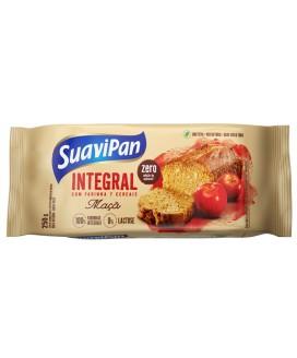 Bolo Integral Zero Açúcar Maçã Suavipan - 250gr