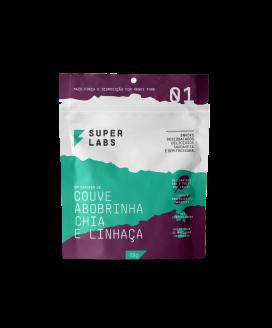 Snack Couve Abobrinha Chia e Linhaça Super Labs - 88gr