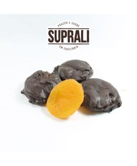 Damasco Coberto com Chocolate 70% Doce Razão Suprali - 250gr