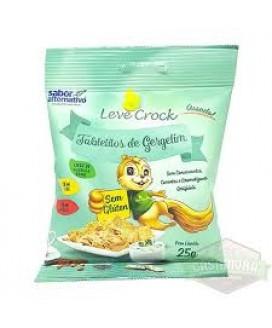 Biscoito Tabletito Leve Crock - 25gr