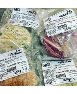 Bife Vegano Tensei Comida Vegetal - pacote com 2 unid