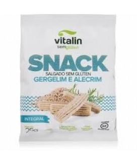 Snack Salgado Sem Glúten Gergelim e Alecrim - 25gr