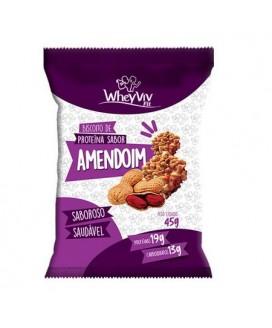Biscoito Amendoim Fit WheyViv - 45gr
