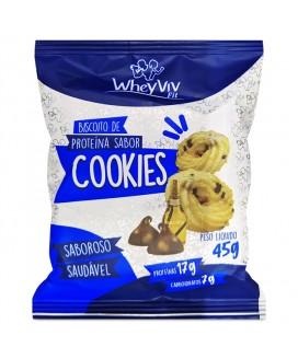 Biscoito Cookie Fit WheyViv - 45gr